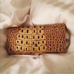 Genuine Leather Snakeskin Wallet